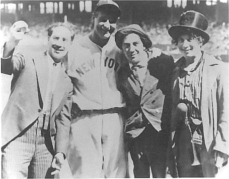 Lou Gehrig and Fans